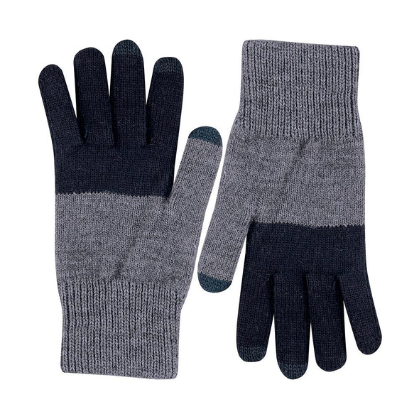 Tech Gloves: Black/Charcoal
