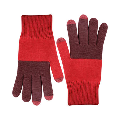 Tech Gloves: Wine Red