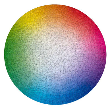 1000 Colors Wheel Puzzle