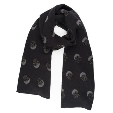 Scarf: Eclipse Black Metallic