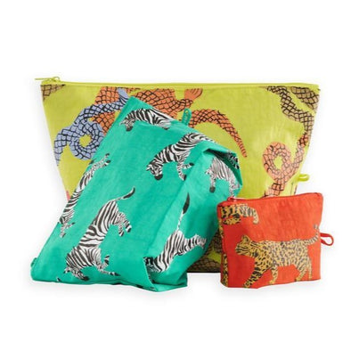 Go Pouch Set: Fancy Animal