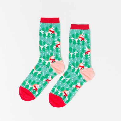 Socks: Holiday Unicorn