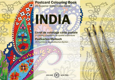 DIY Postcard Set: India