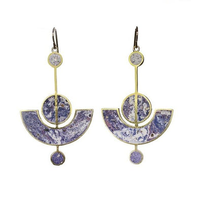 Earrings: Lavalier Lilac