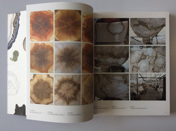 Lizan Freijsen: The Living Surface - An Alternative Biology Book on Stains