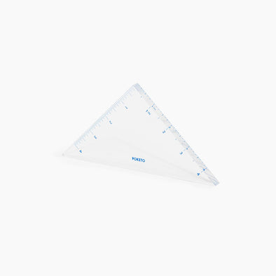 Lucite Triangle Ruler
