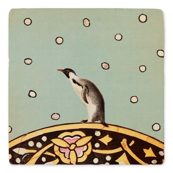 Large Tile: March of Penguins