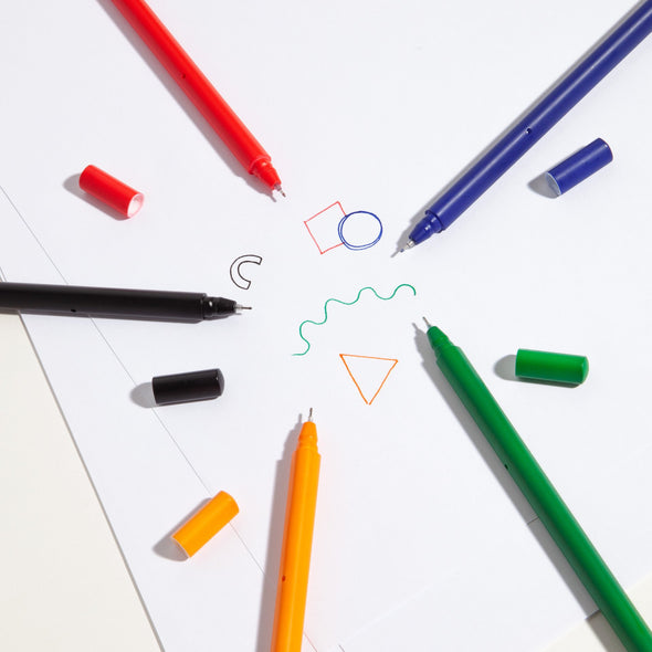 Prism Colored Matte Pen Set
