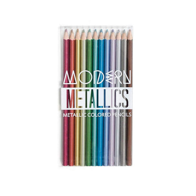 Mod Metallics Colored Pencils