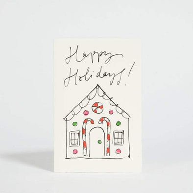 Card: Gingerbread House