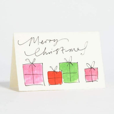 Card: Merry Christmas Presents