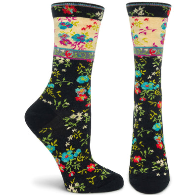 Socks: Mona Linen Black
