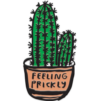 Enamel Pin: Feeling Prickly