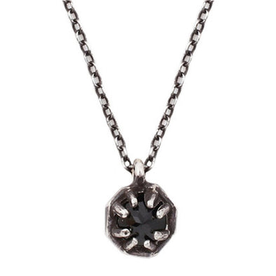 Octagon Spinel Pendant