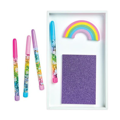 Rainbow Glitter Wand Pen