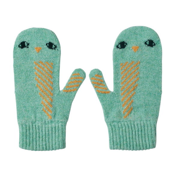 Owl Mitts: Seagrass