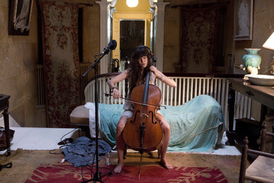 Ragnar Kjartansson: The Visitors Postcard: Cello