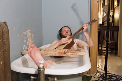 Ragnar Kjartansson: The Visitors Postcard: Bathtub