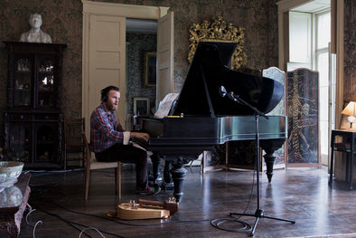 Ragnar Kjartansson: The Visitors Postcard: Piano