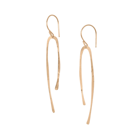 Earring: Sala Hook Gold