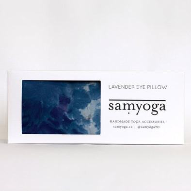 Sea Change Lavender Eye Pillow | Hand-Dyed