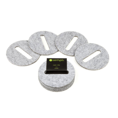 Sempli Stay Grey Coasters