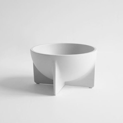 Aluminum Cast Bowl: Small White