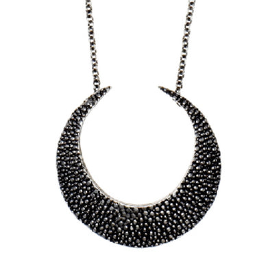 Necklace: Stingray Crescent
