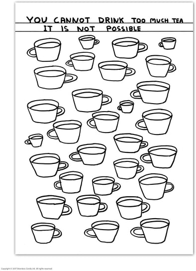 Shrigley Postcard: Tea