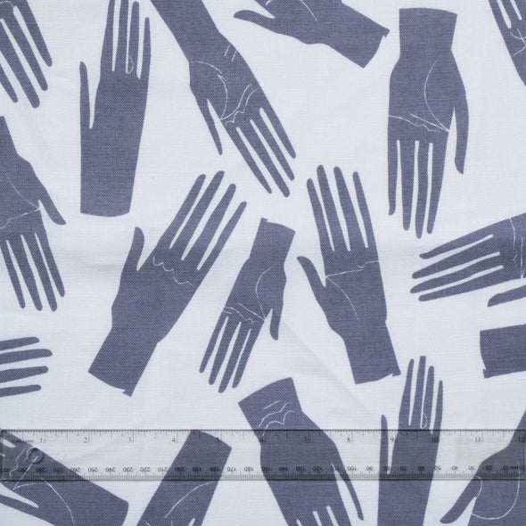 Tea Towel: Grey Hands