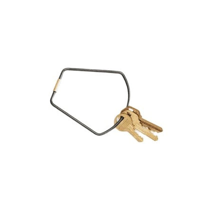 Contour Key Ring: Bell Black