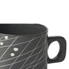 Grid Mug: Black on White