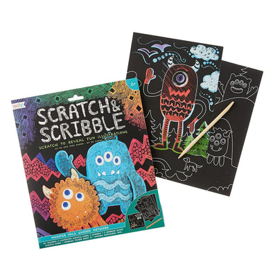 Scratch & Scribble Monster