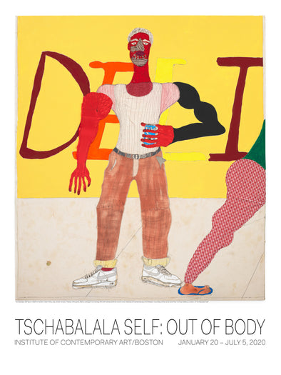 SIGNED Tschabalala Self: Out of Body Poster