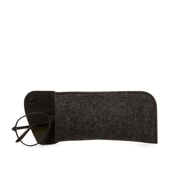 Eyeglass Sleeve: Charcoal