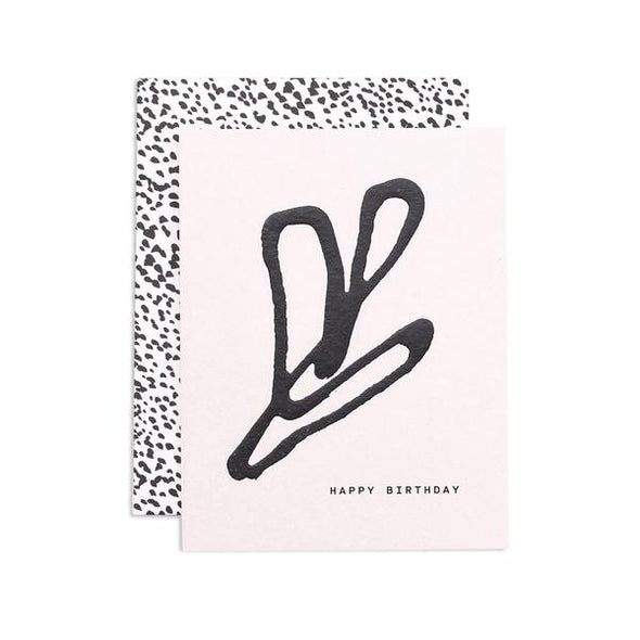 Card: Leafy Birthday
