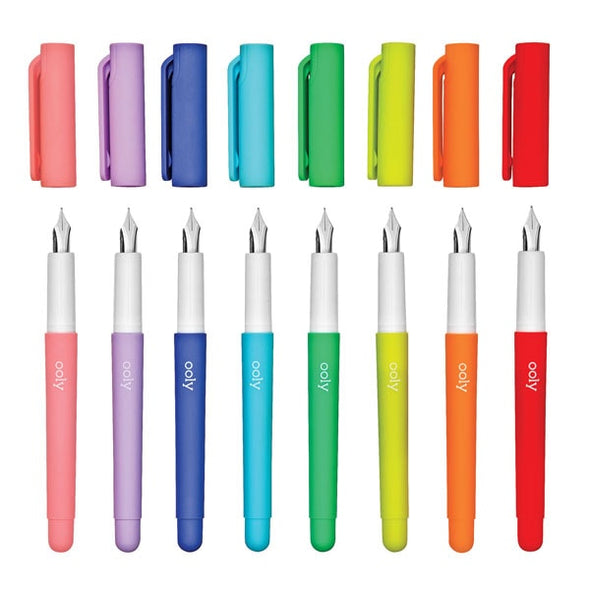 Color Fountain Pens Set/8