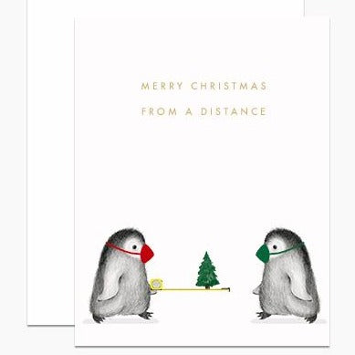 Card: Merry Christmas From A Distance