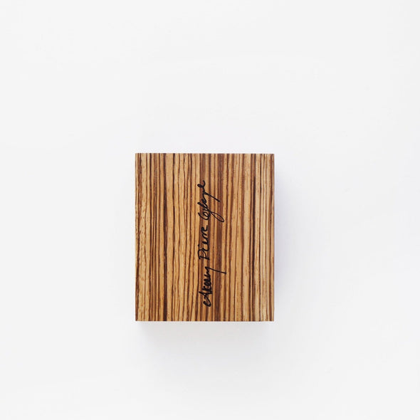 Matchbox: Zebrawood Small