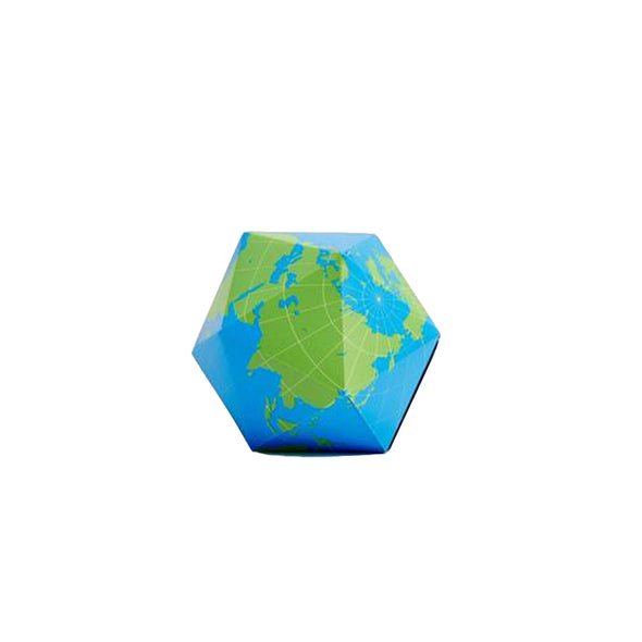 Dymaxion Globe: Blue/Green