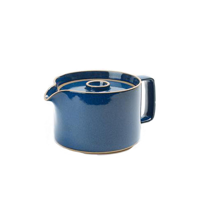 Hasami Porcelain Tea Pot: Blue
