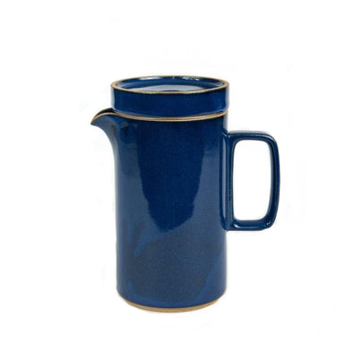 Hasami Tall Porcelain Tea Pot: Blue