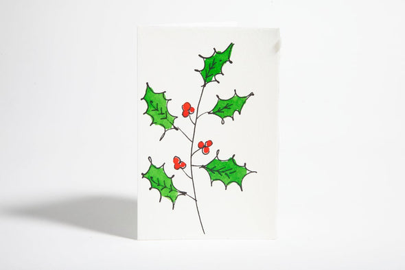 Card: Holly