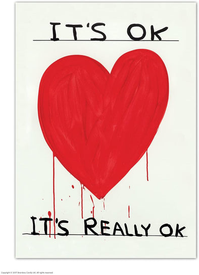 Shrigley Postcard: It's OK