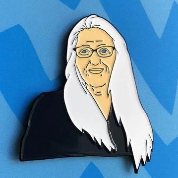 Enamel Pin: Jane Campion