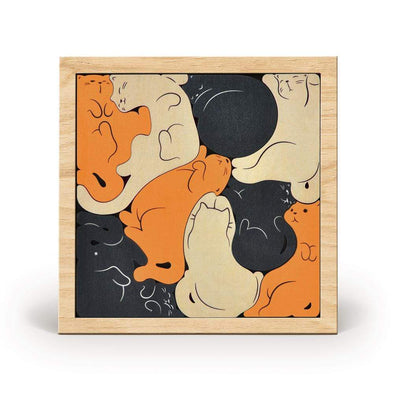 Kitty Corner Wooden Game