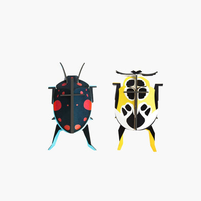 Lady Beetle Paper Model Set