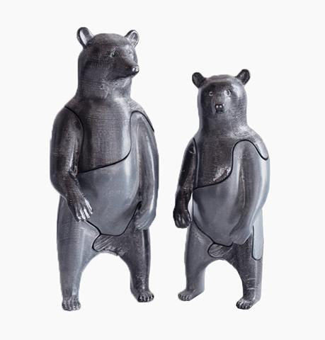 Locknesters 3D Puzzle: Large Bear