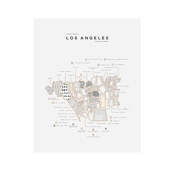 City Print: Los Angeles