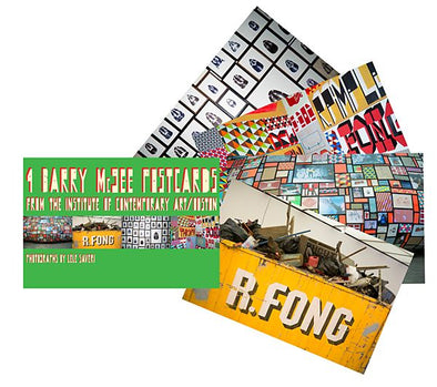Barry McGee Postcard Set